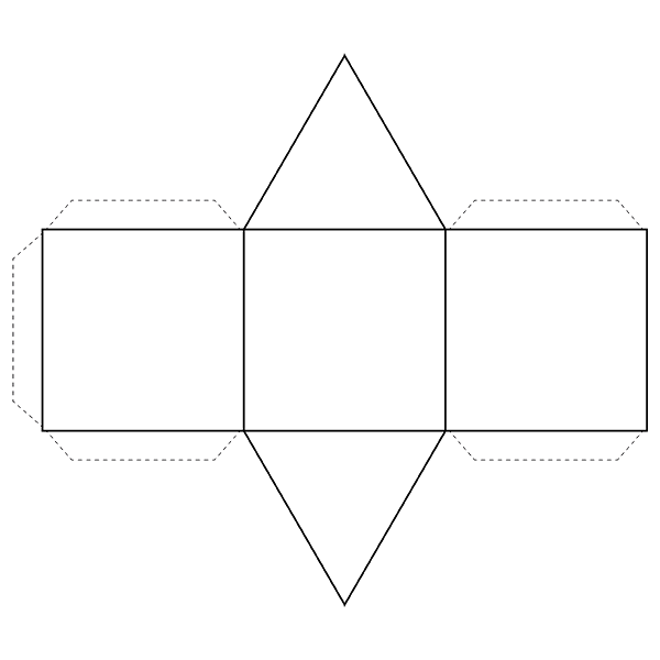 Prism - 3D Shape - Geometry - Nets of Solids - Activities and ...