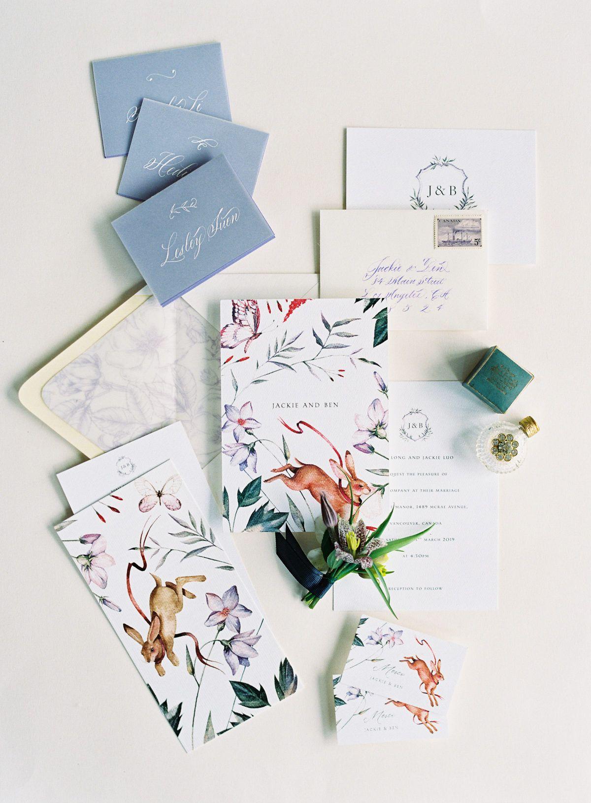 A Fantasy Garden Theme, a Perfume Bar, Purple Fleurs – This Is Whimsy Wedding Heaven.