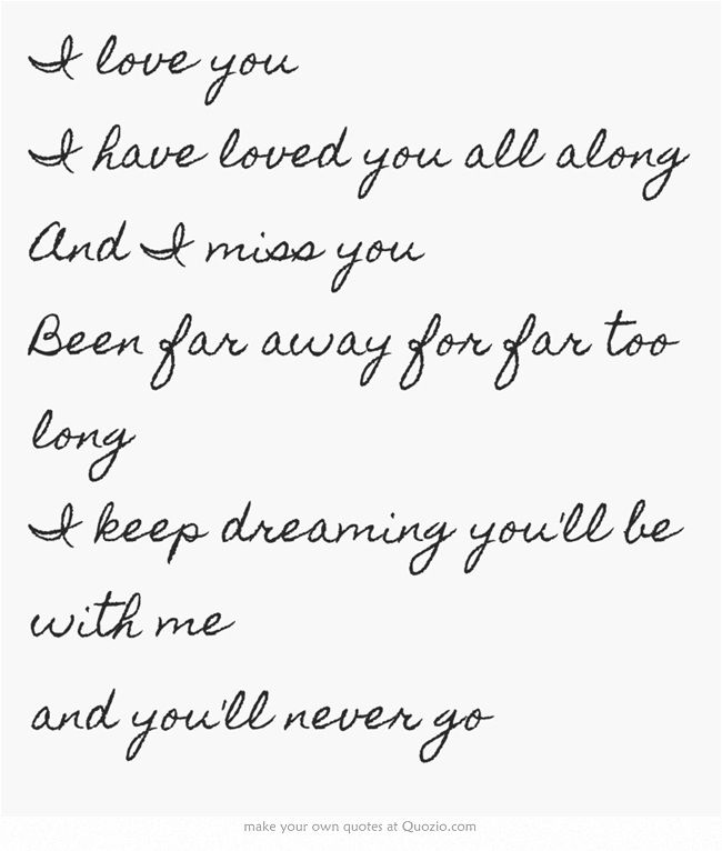 Lyric if you go away lyrics : This song means so much to my honey it was a song he dedicated to ...