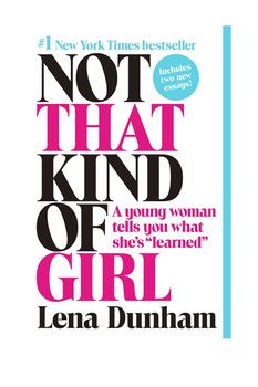 Penguin Random House Not That Kind of Girl