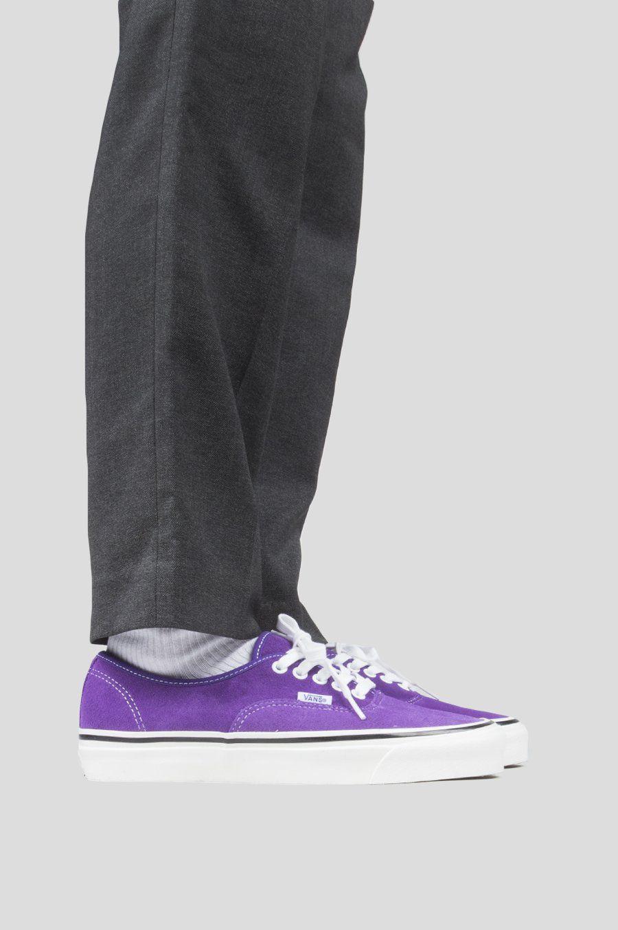 Vans authentic 44 dx anaheim factory og bright purple   shoez ... d989b83ef471