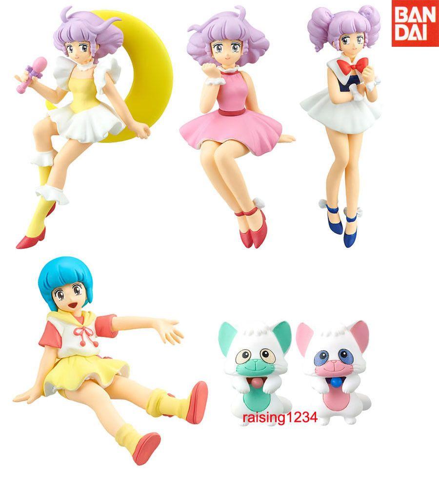 Pink Dress Ver GASHAPON CREAMY MAMI Desktop Collection Mini Figure Bandai