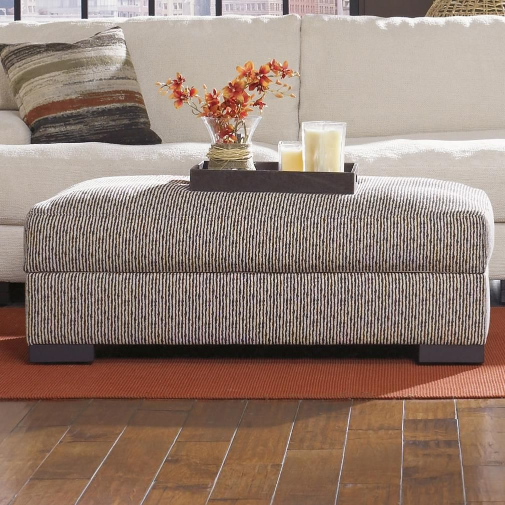 Marvelous Burton Lombardy Contemporary Storage Cocktail Ottoman By Dailytribune Chair Design For Home Dailytribuneorg