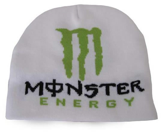 580fffca79c5b Monster Energy Beanie White