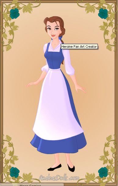 Belle rags | LINDSAY | Pinterest | Belle blue dress, Belle ...