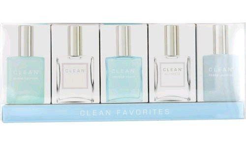 Clean Variety Mini Gift Set Edp Splash Warm Cotton Clean Shower