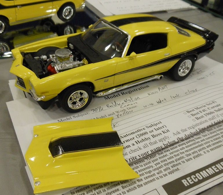 70 1 2 Baldwin Motion Camaro Plastic Model Kits Cars Model Cars Kits Camaro Models
