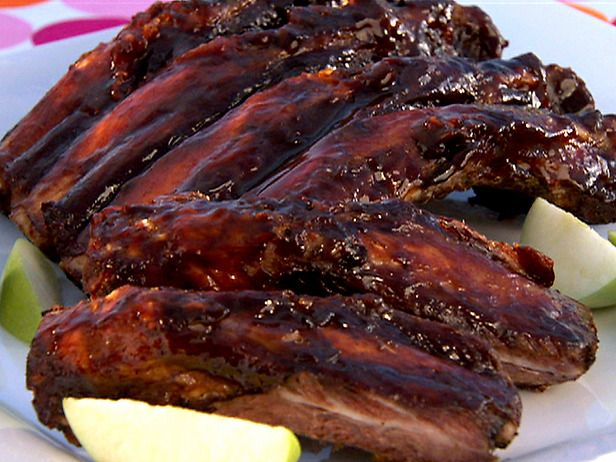 BBQ Ribs with Marinade and Sauce