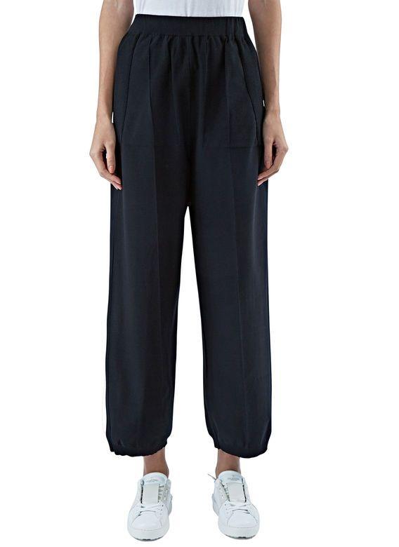 Women's Pants - Clothing   Discover Now LN-CC - Wide Leg Crepe Pants