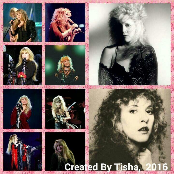 Stevie Nicks Collage Created By Tisha 05/15/16