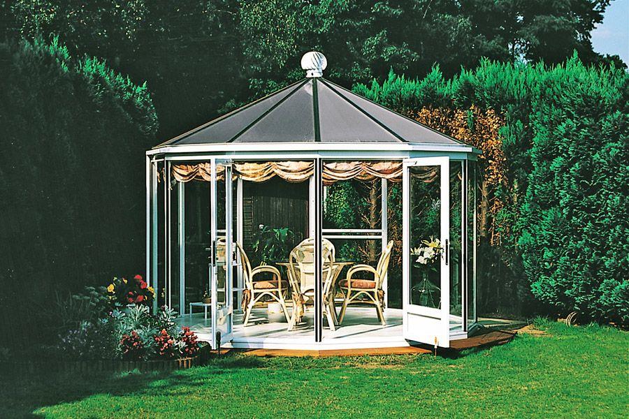Kiosque De Jardin En Aluminium