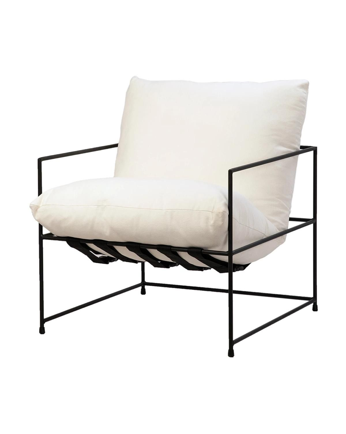 Less is more with the design of the Yates Chair. A simple black ...