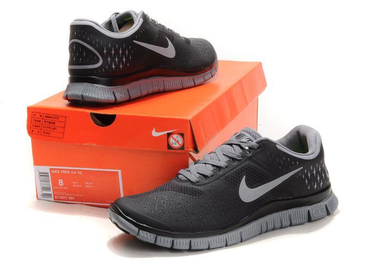 Nike Free 4.0 V2 Hommes Chaussures De Course En Daim nouvelle arrivee L5VZzUgF
