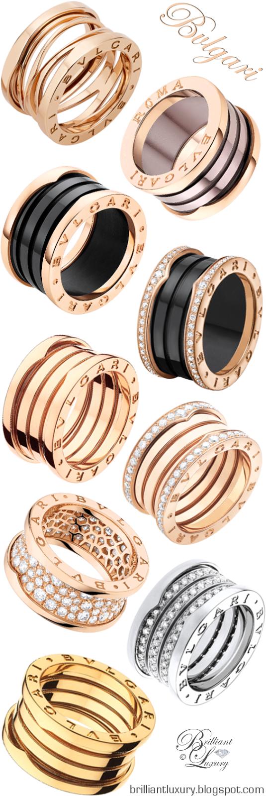 brilliant luxury bvlgari bzero1 rings udated