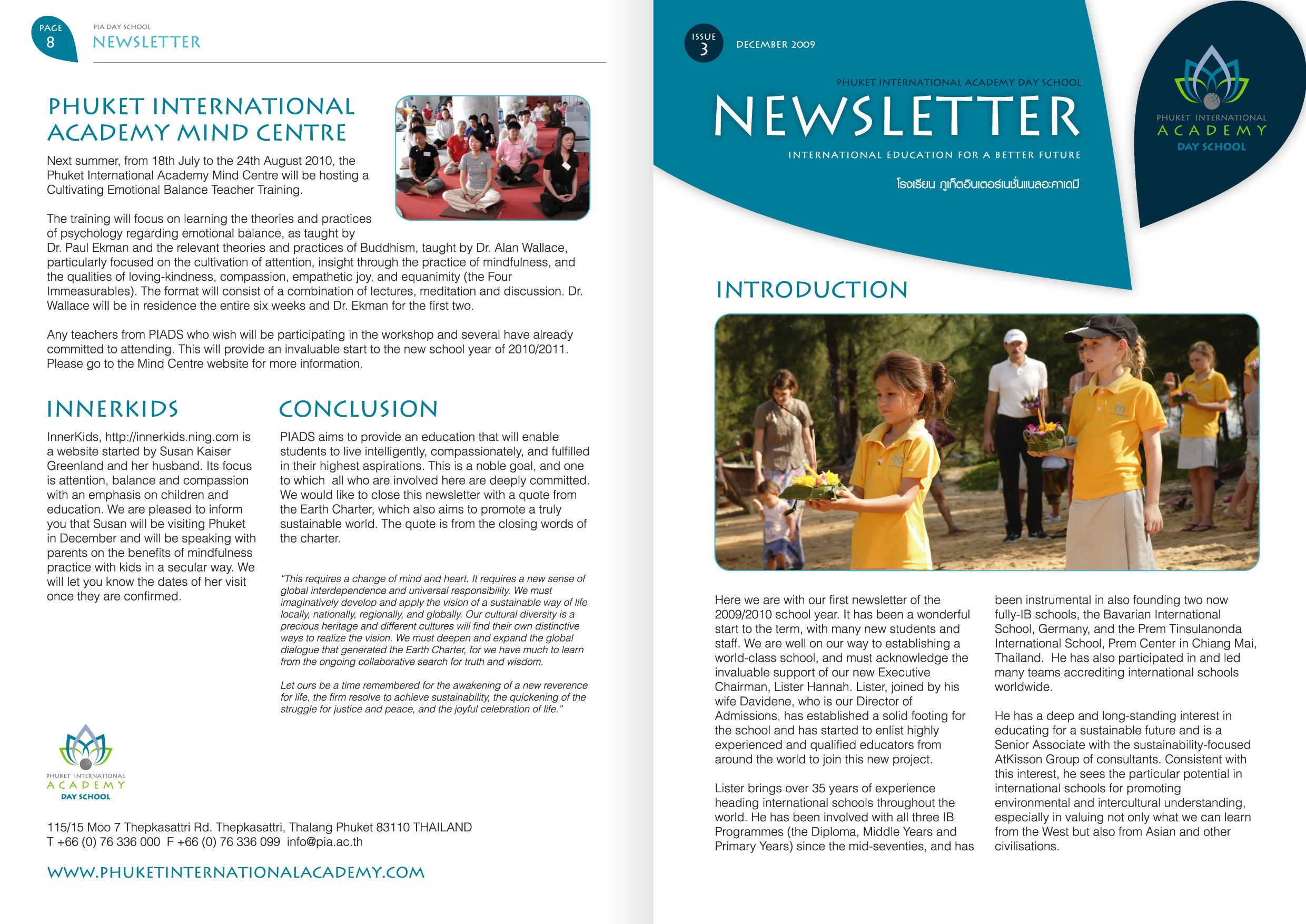 Print Production Portfolio | PIA A4 Newsletter | Design Chemical ...