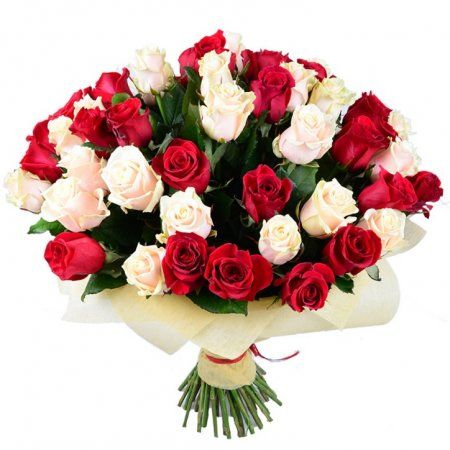 Шикарный букет цветов с днем рождения 49