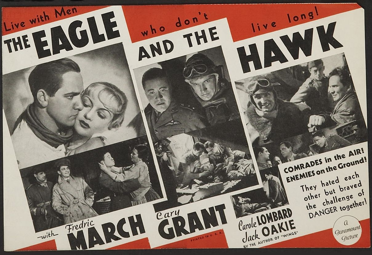 Classic Old Movie : The Eagle And The Hawk 1933