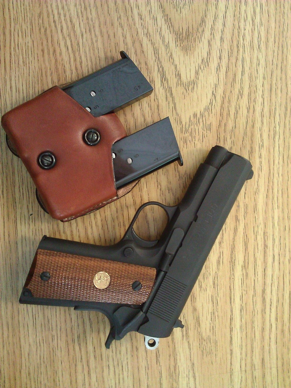 Colt 1911 .45 Officers ACP mk IV. One of my favorite carry pistols.