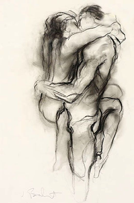 couples art Pinterest nude