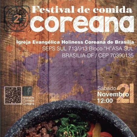 II Festival de Comida Coreana em Brasília