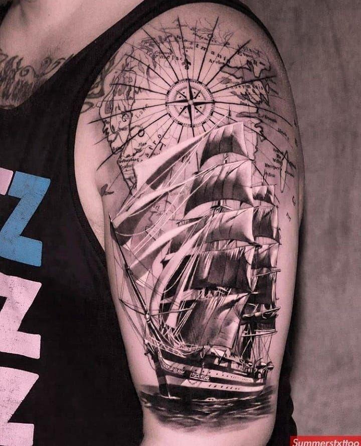 @istallabouttattoos 😎😎 . . Art by @summerstxttoo .  #tattoo #tattoos #tattoolover #blackandgreytattoo #colortattoo #smalltattoo #tattooartist #inked #inkedgirls #inktattoo #tattooink #tattooed #tattooart #portraittattoo #amazingtattoo #cooltattoo #inkaddict #inktattoo #tattoomodels