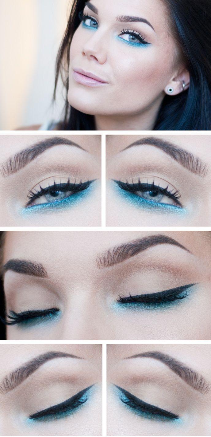Pin By Maggie A Garza On Fabmakeup Pinterest Makeup Blue