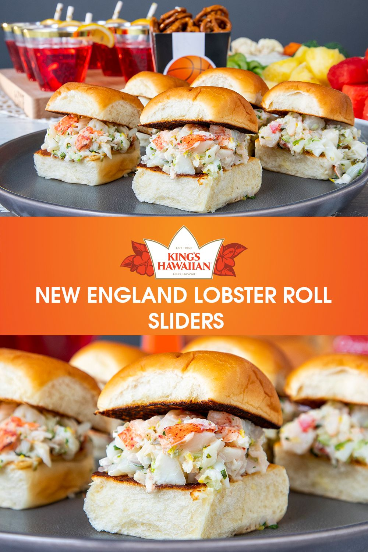 New england lobster roll sliders recipe hawaiian bread