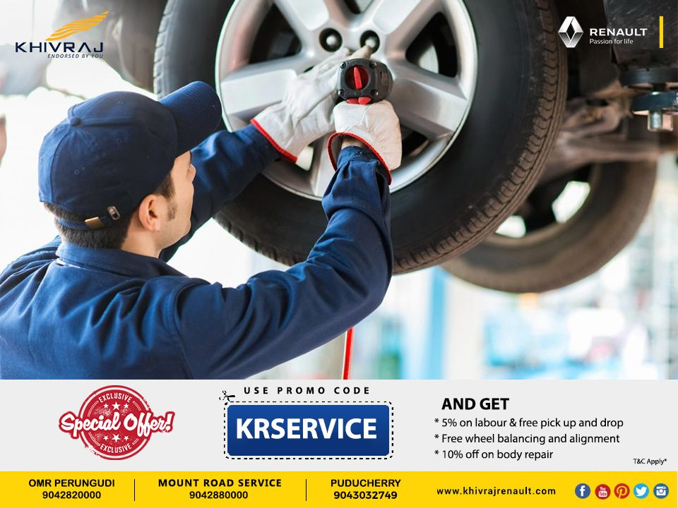 Your Mechanic Promo Code >> Get Special Offers On Your Renault Car Service By Using