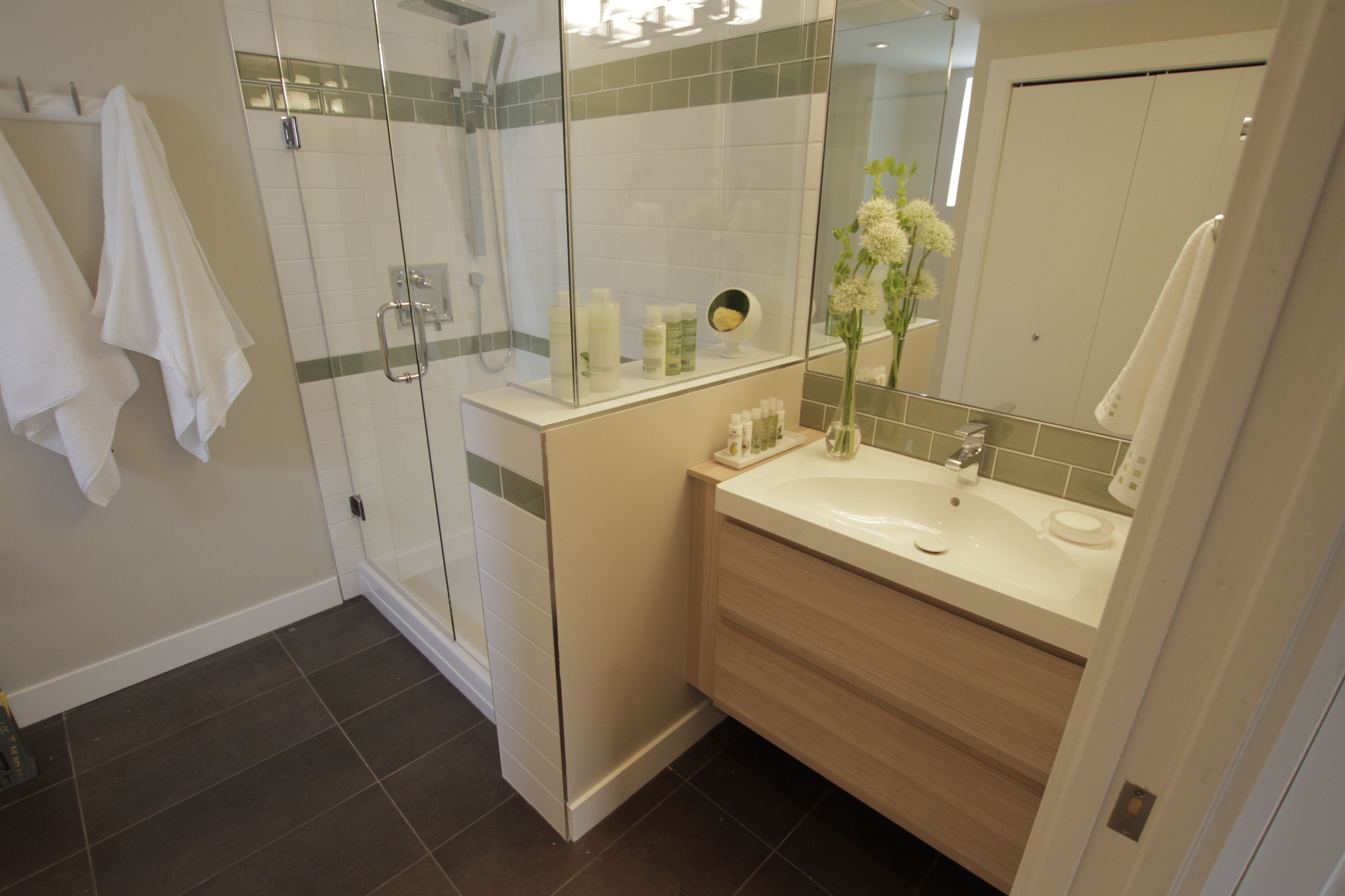 Fantastic bathroom remodel as seen on Property Brothers ...