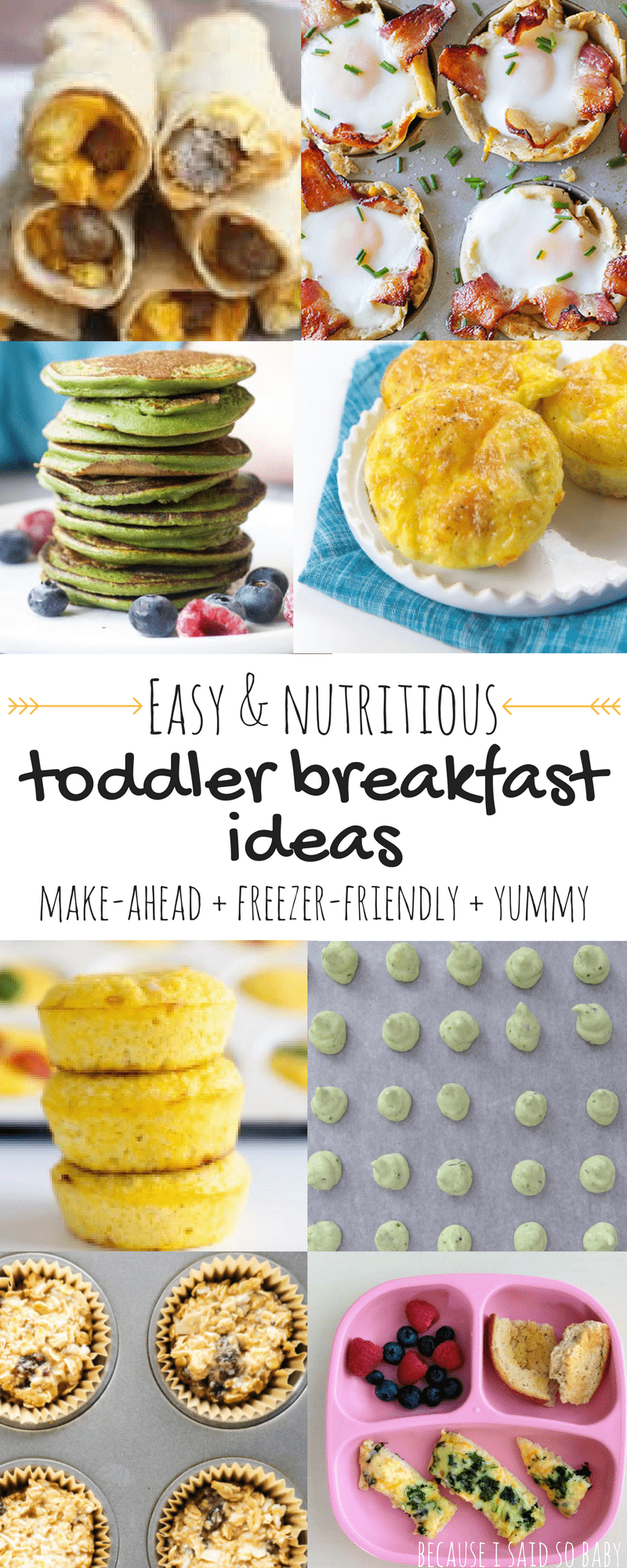 8 Healthy Toddler Breakfast Ideas images