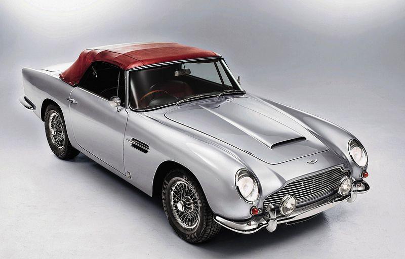 1963 Aston Martin DB5 Convertible Классические