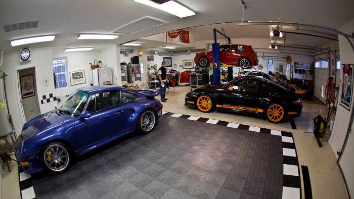 Explore Garage Cabinets, Porsche Design, And More! I Started Car Guy ...