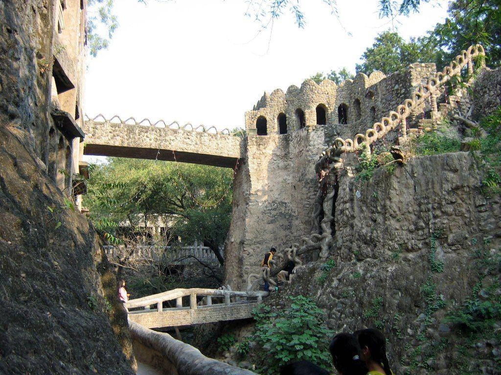 Chandigarh Rock Garden Hd Wallpaper Rock Garden Tourist Places