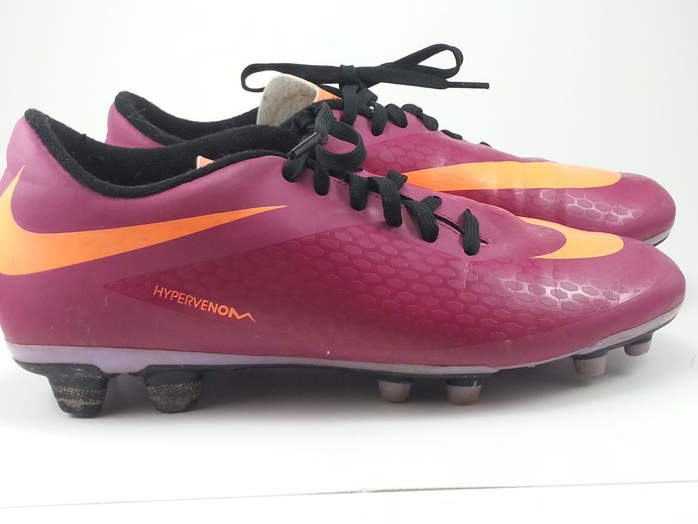 new style 12ab3 22c01 Nike HYPERVENOM Ladies Soccer Cleats. Size 8.5 Hot Pink/Neon ...