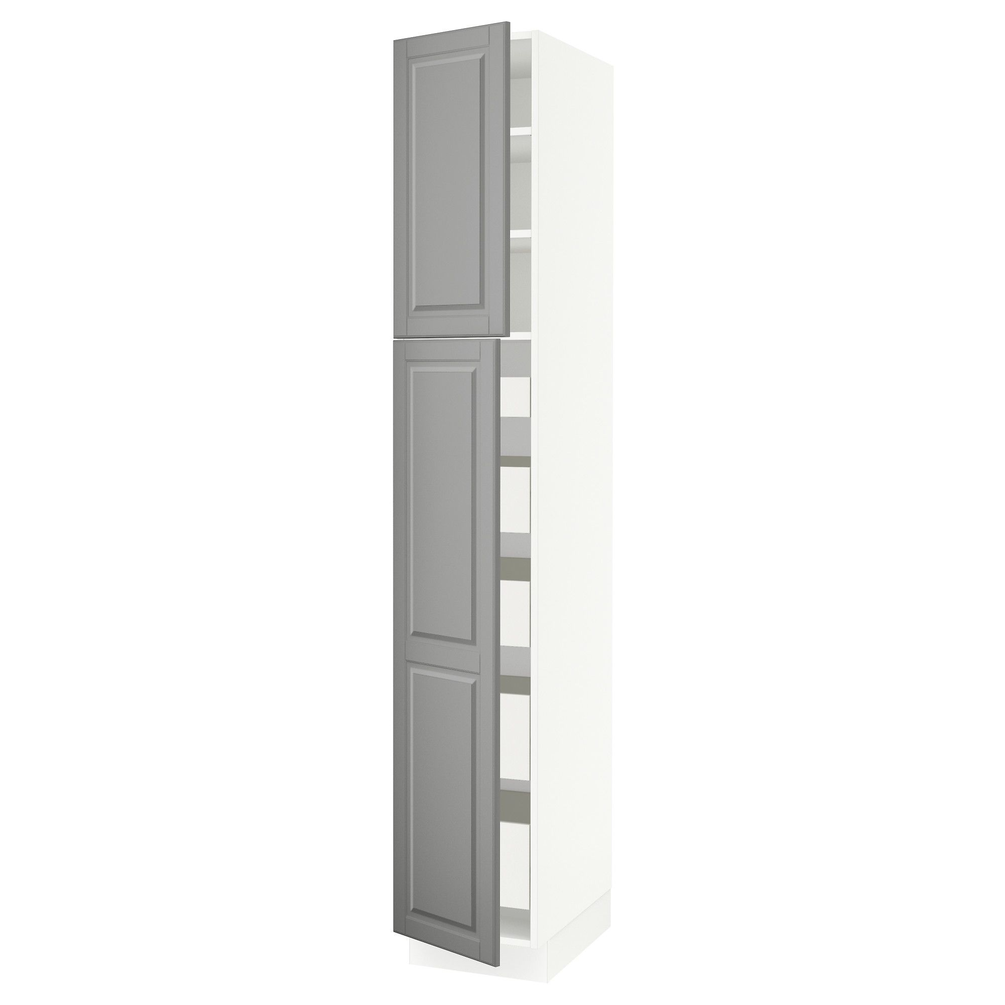 Ikea Sektion White High Cabinet W 2 Doors Amp 5 Drawers