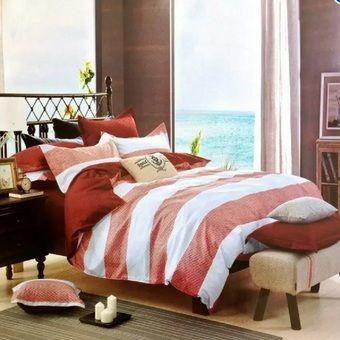 ขายสินค้ายอดนิยม ราคาไม่แพง Zhong Na ชุดเครื่องนอน พร้อมผ้านวม 6 ฟุต 6 ชิ้น -S 92 รับประความพึงพอใจ พร้อมส่งทันที