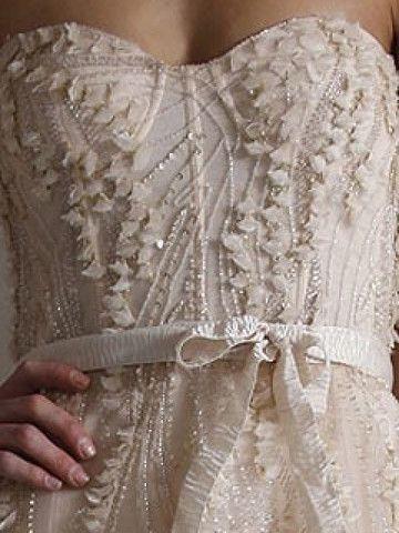 Monique Lhuillier Candy Blush Wedding Dress