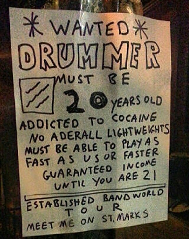 Drummer Wanted~ | ~COOL~ | How to play drums, Drums, Music