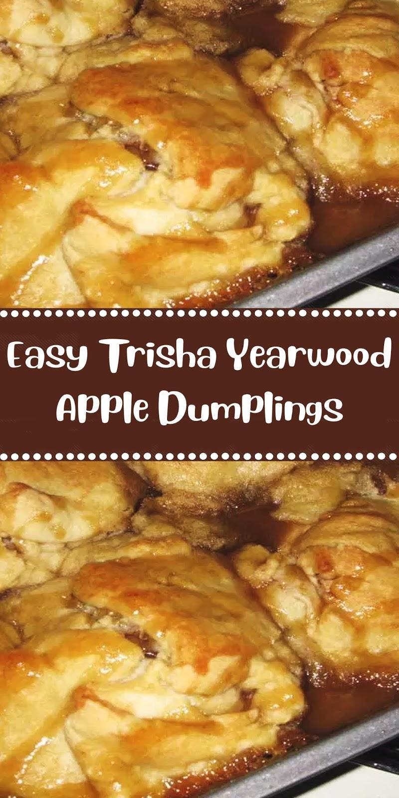 Easy Trisha Yearwood Apple Dumplings Dapur Simbah Apple Dumplings Easy Thanksgiving Recipes Trisha Yearwood Recipes