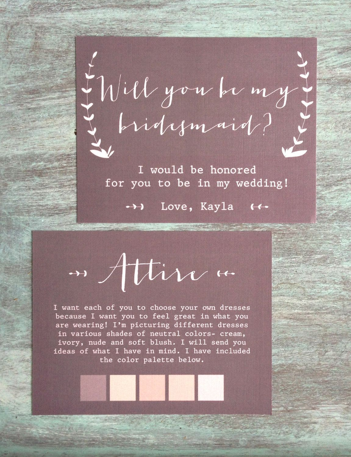 Will you be my bridesmaid maid of honor matron of honor invitation these could not be any more amazing will you be my bridesmaid cards and an stopboris Gallery