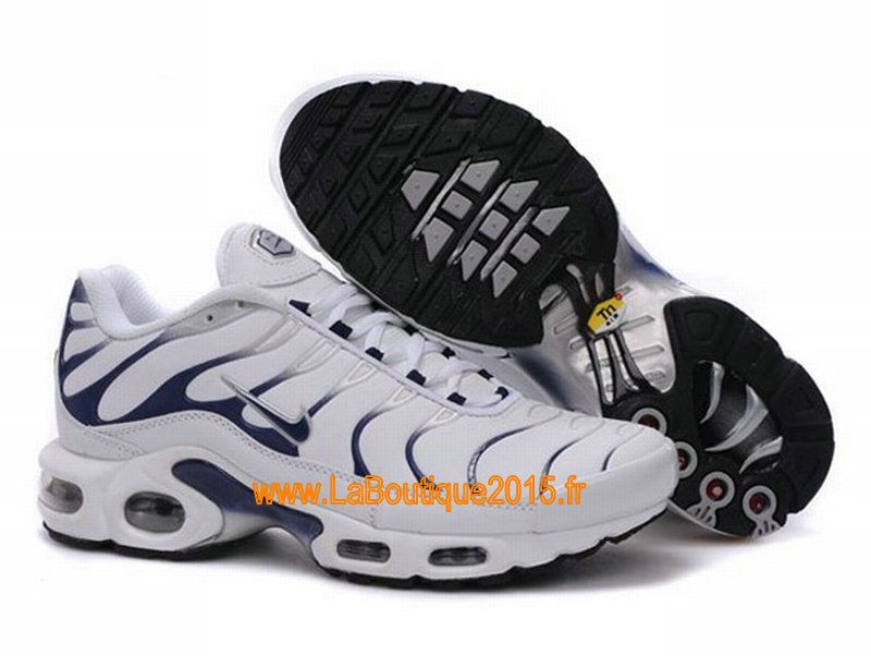Nike Air Max Tn Requin/Tuned 1 Chaussures Nike Tn Pas Cher Pour Homme Blanc