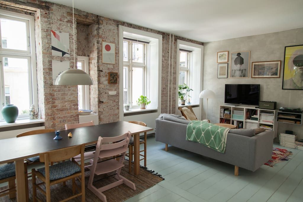 Check Out This Awesome Listing On Airbnb: Central Copenhagen Apartment    Flats For Rent In