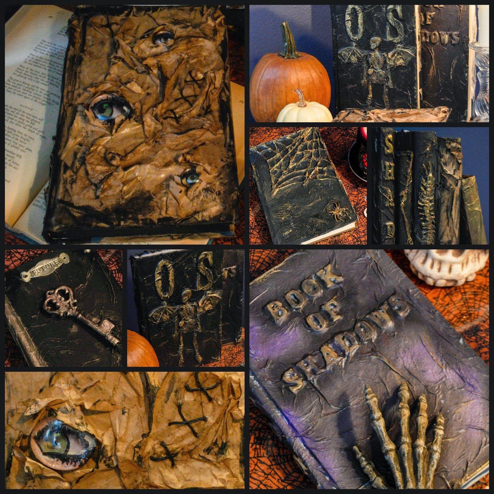 spell books creepy halloween - photo #14