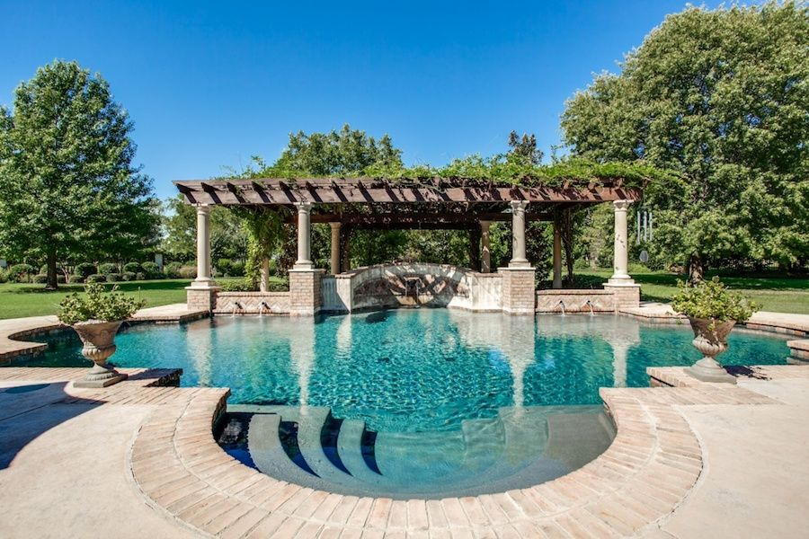 Mansion dream house: Gated Colleyville Home – 7112 Pleasant Run Road, Colleyville, Texas, United States, 76034