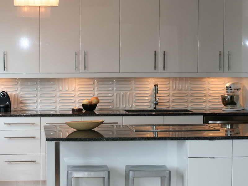 Modern Kitchen Backsplash Above Is Part Of And Elegant Design The Ann Sacks