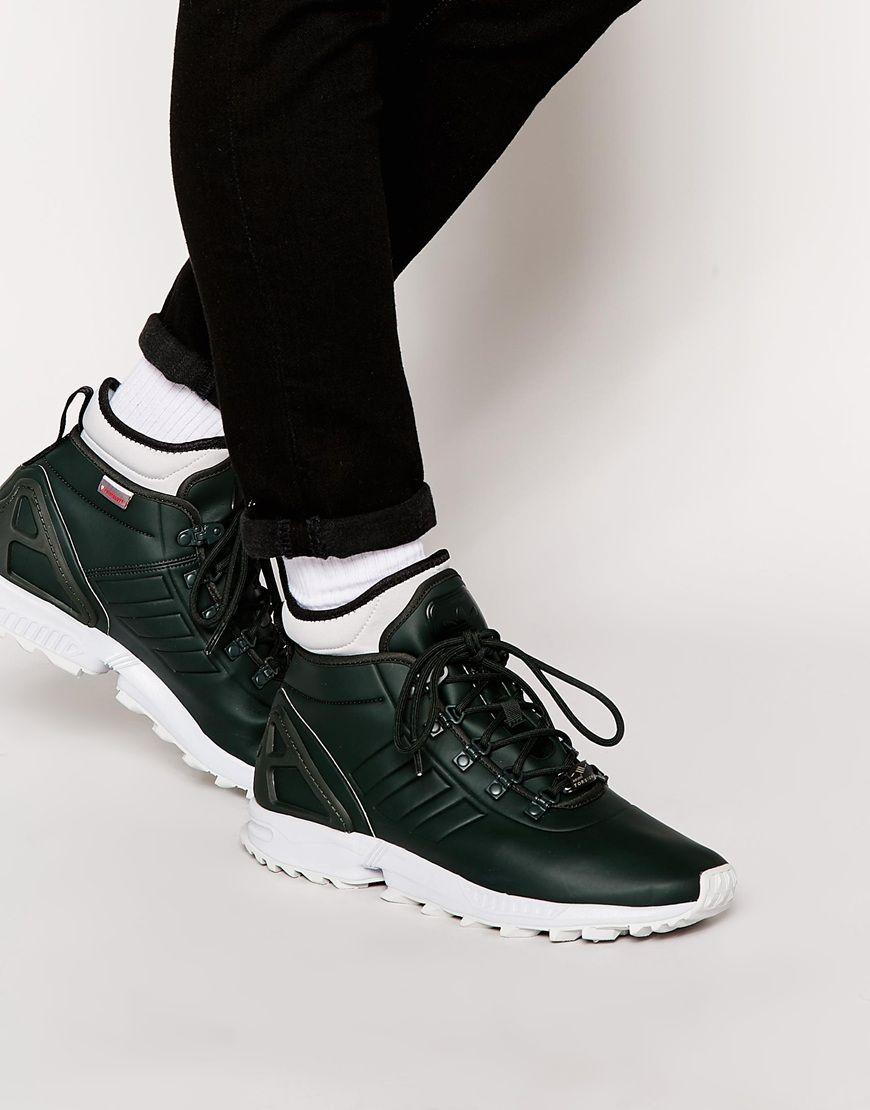 adidas originals zx flux trainers black ALR Services Ltd