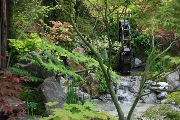 This beautiful garden has been designed to capture the concept of Togenkyo