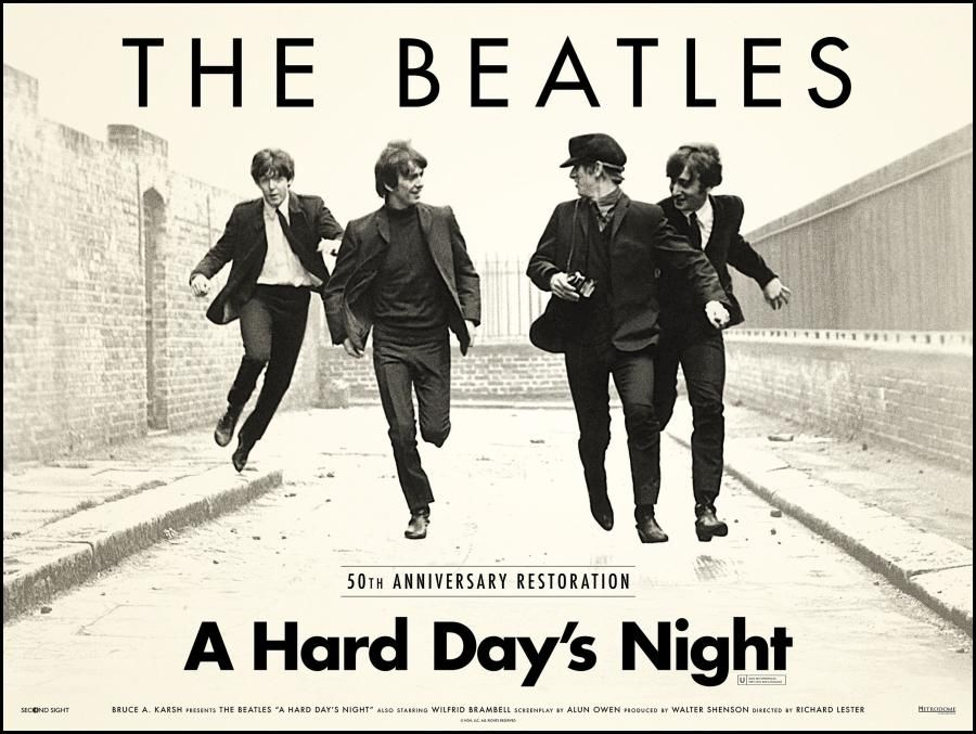 A Hard Day's Night Lyrics