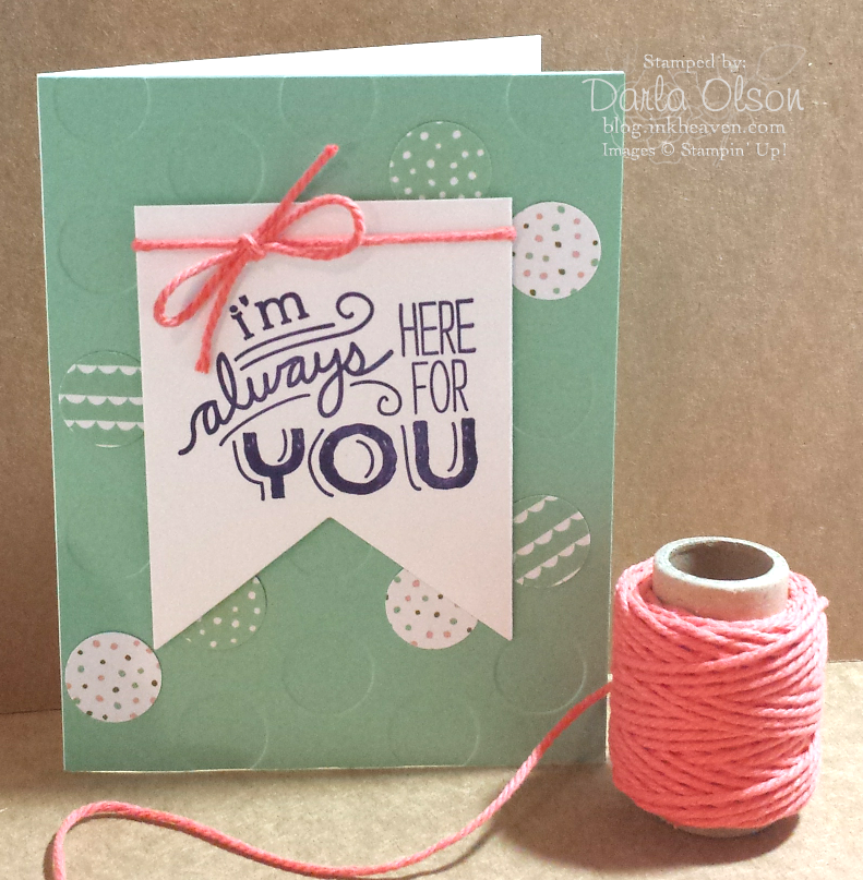 What makes the perfect card? #stampinup #inkheaven #diy #cardmaker
