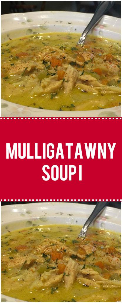 Mulligatawny Soup I – Quick Family Recipes #mulligatawnysoup